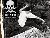 7.75 Death Skateboards Hooded Tops