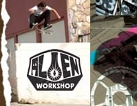 8.25 Alien Workshop SKATEBOARDS