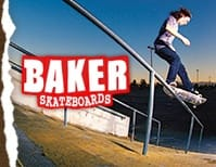 Black Baker Skateboards Skate T-Shirts