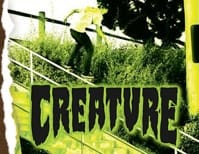 Creature Skateboards Skateboard Stickers