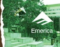 White Emerica Skate T-Shirts