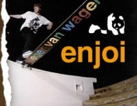 White Enjoi Skateboards SKATE CLOTHING