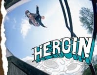White Heroin Skateboards Skate T-Shirts