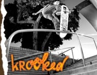 Krooked Skateboards Skateboard Stickers
