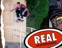 Black Real Skateboards ACCESSORIES
