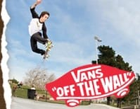 Red Vans SKATE SHOES