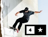 Fourstar Clothing Skate T-Shirts