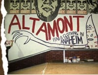 White Altamont SKATE CLOTHING