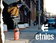 Black Etnies SKATE CLOTHING