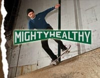 Grey Mighty Healthy SKATE CLOTHING