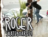7.75 Roger Skateboards Skateboard Decks