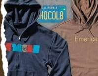 Brown Hooded Tops