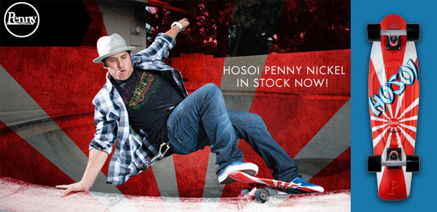 Penny Hosoi Nickel Skateboard
