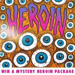 HEROIN SKATEBOARDS COMPETITION