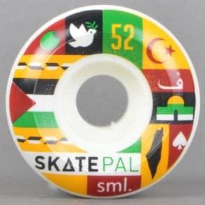SML Wheels Skatepal Collab. V Cut Skateboard Wheels 52mm