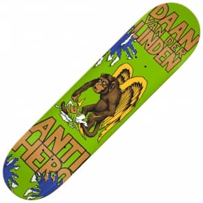 Antihero Skateboards Daan Van Der Linden First Green Skateboard Deck 8.06""