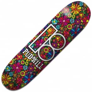Plan B Skateboards Pudwill Easy Slider Black Ice Skateboard Deck 8.0""