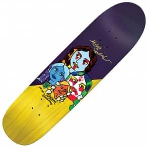 "Krooked Skateboards Ronnie Sandoval Herem (Custom Shape) Skateboard Deck 8.5"""