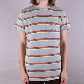 1993 Stripe Pocket Tee - Ballad Blue