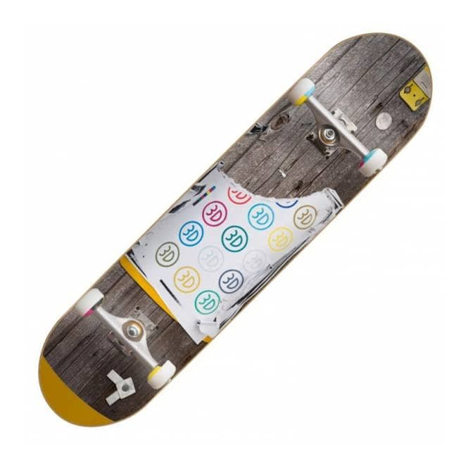 3D Skateboards 3D Telephone Pole Skateboard Deck 8.0''