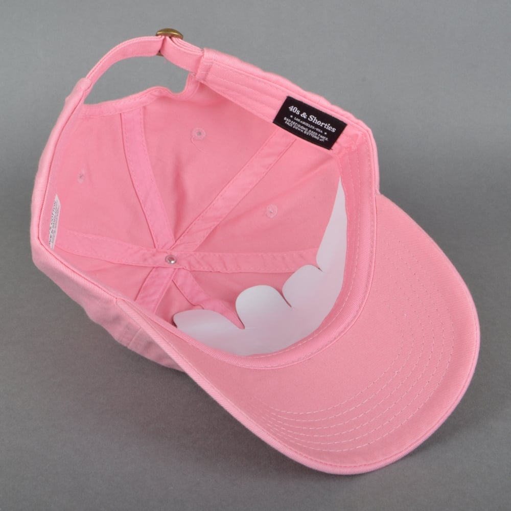 01b4385b 40s And Shorties Deez Nuts Dad Cap - Pink - SKATE CLOTHING from ...