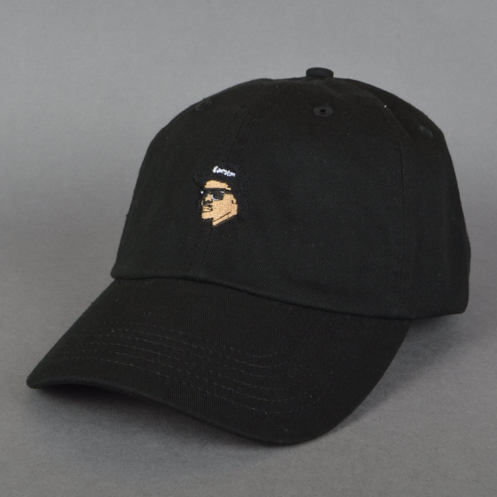 05b0b7e581e 40s And Shorties Easy Dad Cap - Black - SKATE CLOTHING from Native ...