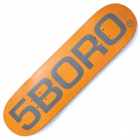 5B EXT Logo Orange Deck 8.5
