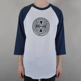 88 TC Baseball T-Shirt - Navy/White