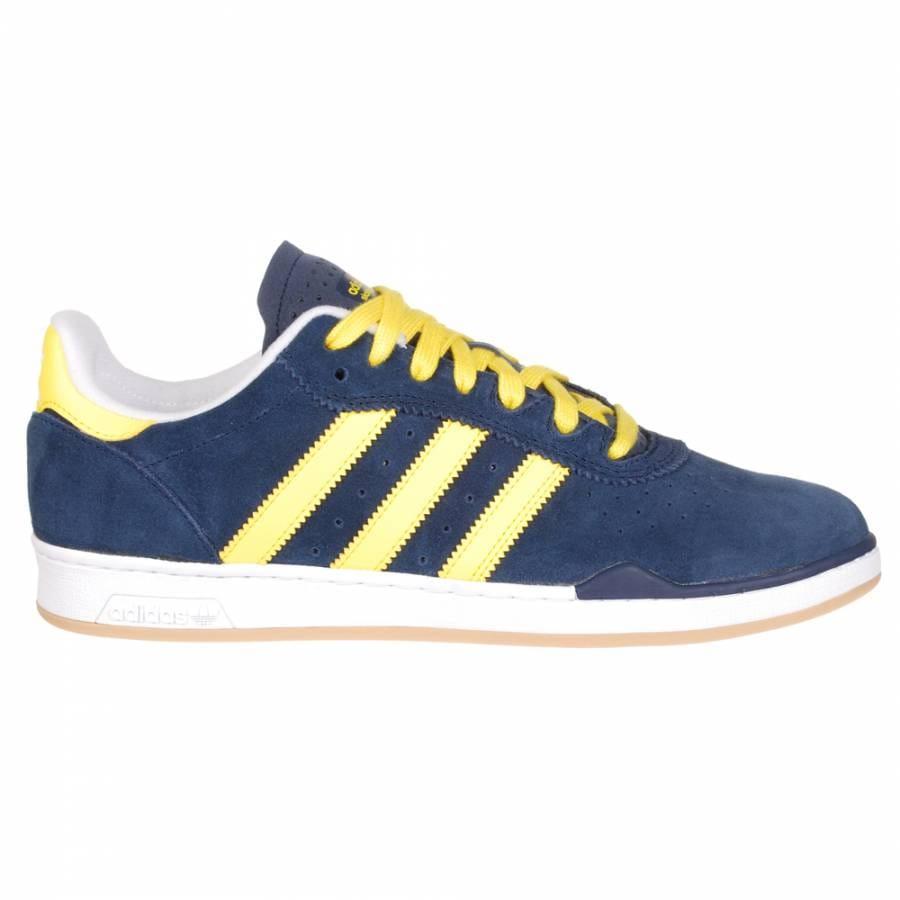 Yellow Adidas Skate Shoes