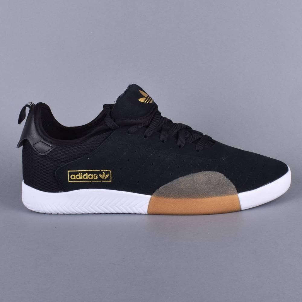 los angeles 89e8c e3e35 3ST.003 Skate Shoes - CBLACKLGRANIFTWWHT