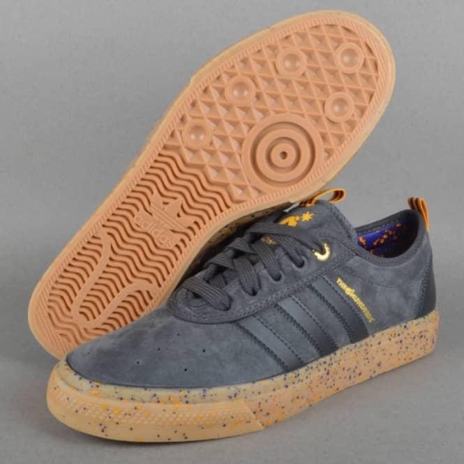 separation shoes 30e51 87525 Adi-Ease ADV x The Hundreds Skate Shoes - DGSORRGPUNBGOLSLD