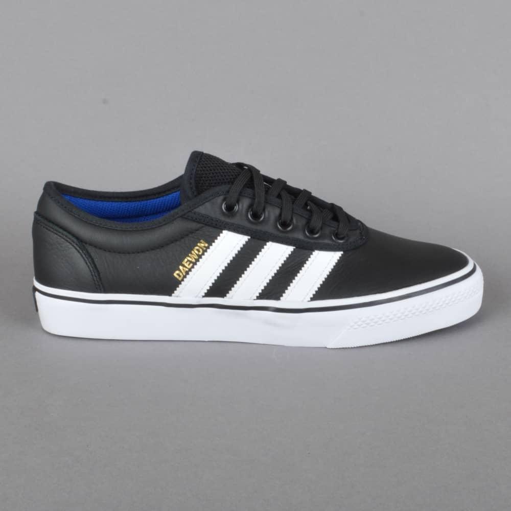 17fb63279 Adidas Skateboarding Adi-Ease (Daewon) Skate Shoes - CBLACK FTWWHT ...