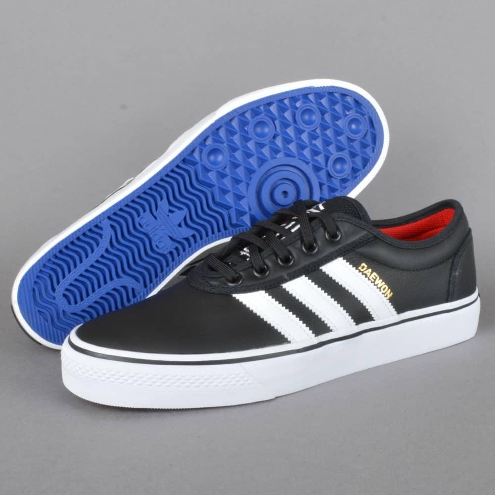 ef1586570 Adidas Skateboarding Adi-Ease (Daewon) Skate Shoes - CBLACK FTWWHT ...