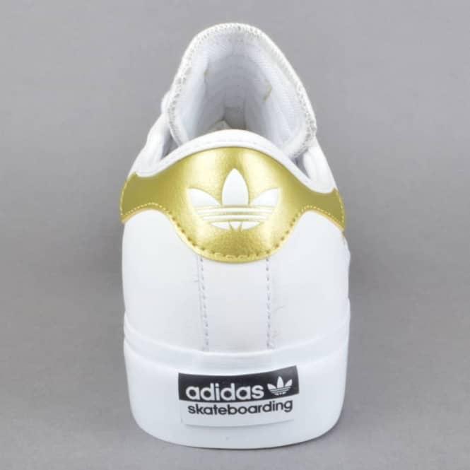 Adi Ease Premiere Away Days Skate Shoes FTW WhiteGoldDMTGum4