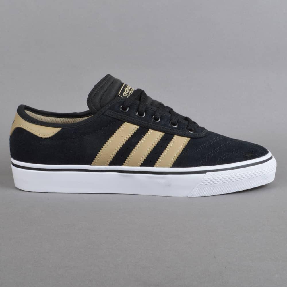 online store 58da1 1a351 Adi-Ease Premiere Skate Shoes - CBLACKRAWGOLFTWWHT