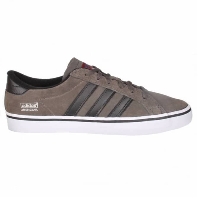 Adidas Skateboarding Adidas Americana Vintage Low Skate Shoes - Dark Cinder/Black1/Running White