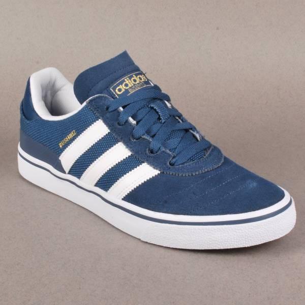 3792fed1e5bb0 Adidas Busenitz Vulc Skate Shoes - University Blue Running White University  Blue