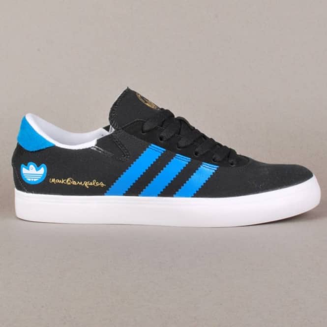 uk availability 06de1 0558a Adidas Skateboarding Adidas Gonz Pro Skate Shoes - BlackSolar BlueRunning  White - Mens Skate Shoes from Native Skate Store UK