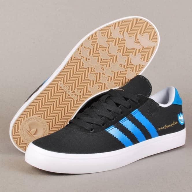 lowest price 6a20a d323d Adidas Gonz Pro Skate Shoes - BlackSolar BlueRunning White