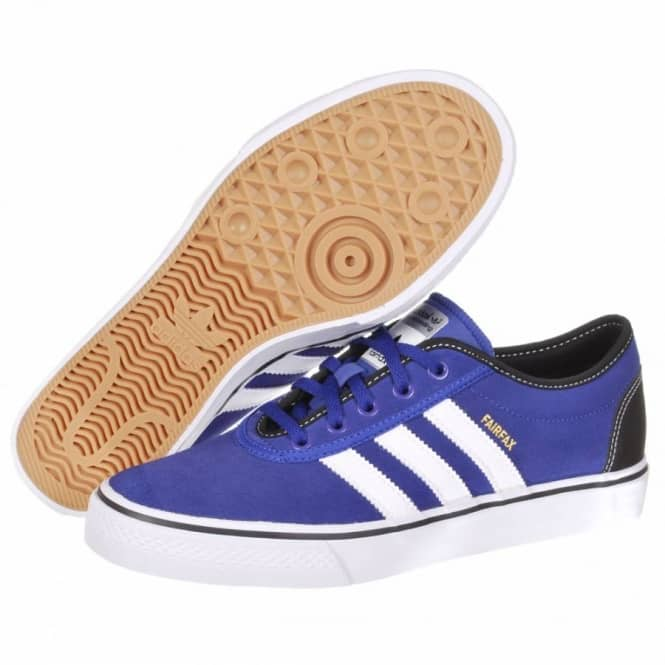 a07c916073 Adidas Skateboarding Adi Ease Fairfax Skate Shoes - Prime Ink Blue Running  White Black