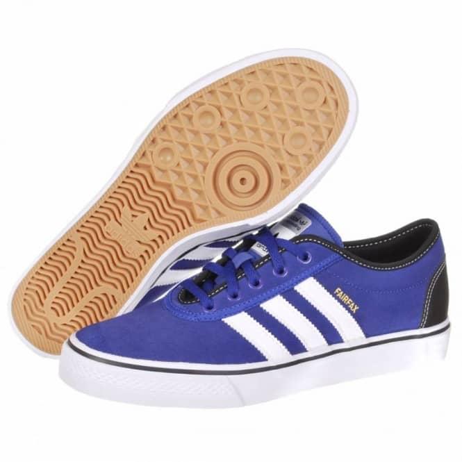 a07c916073 Adidas Skateboarding Adi Ease Fairfax Skate Shoes - Prime Ink Blue Running  White Black
