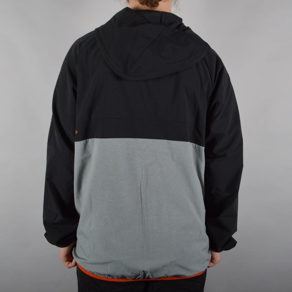 ef49fa339 Adidas Skateboarding Aerotech Windbreaker Jacket - Black/Melange ...
