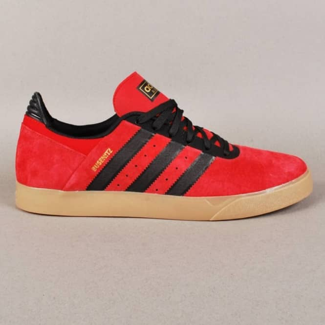 39fbeb027a2c Adidas Skateboarding Busenitz ADV Skate Shoes - Light Scarlet Black 1 Gum 4
