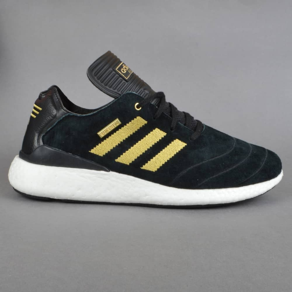 1f6e9fc7397f9 Adidas Skateboarding Busenitz Pure Boost 10YR Skate Shoes - Black ...