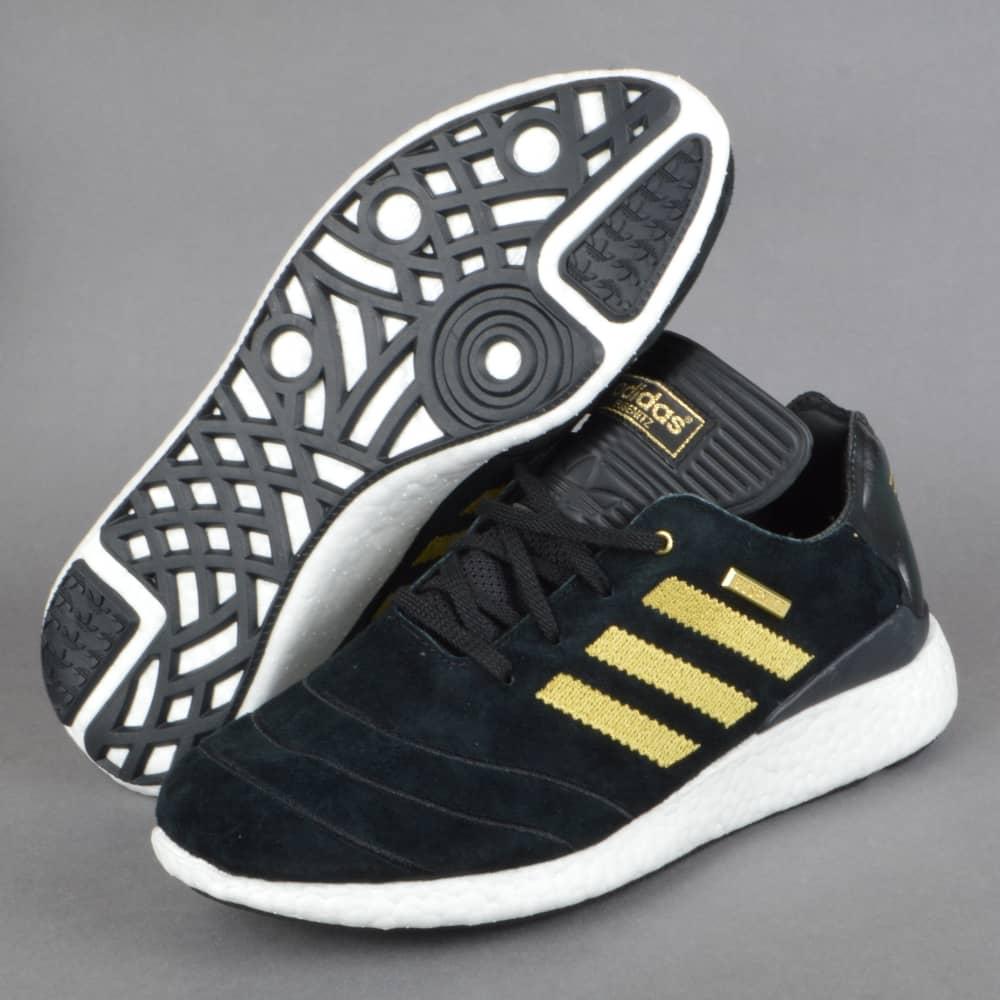 1f6e9fc7397f9 Adidas Skateboarding Busenitz Pure Boost 10YR Skate Shoes - Black ...