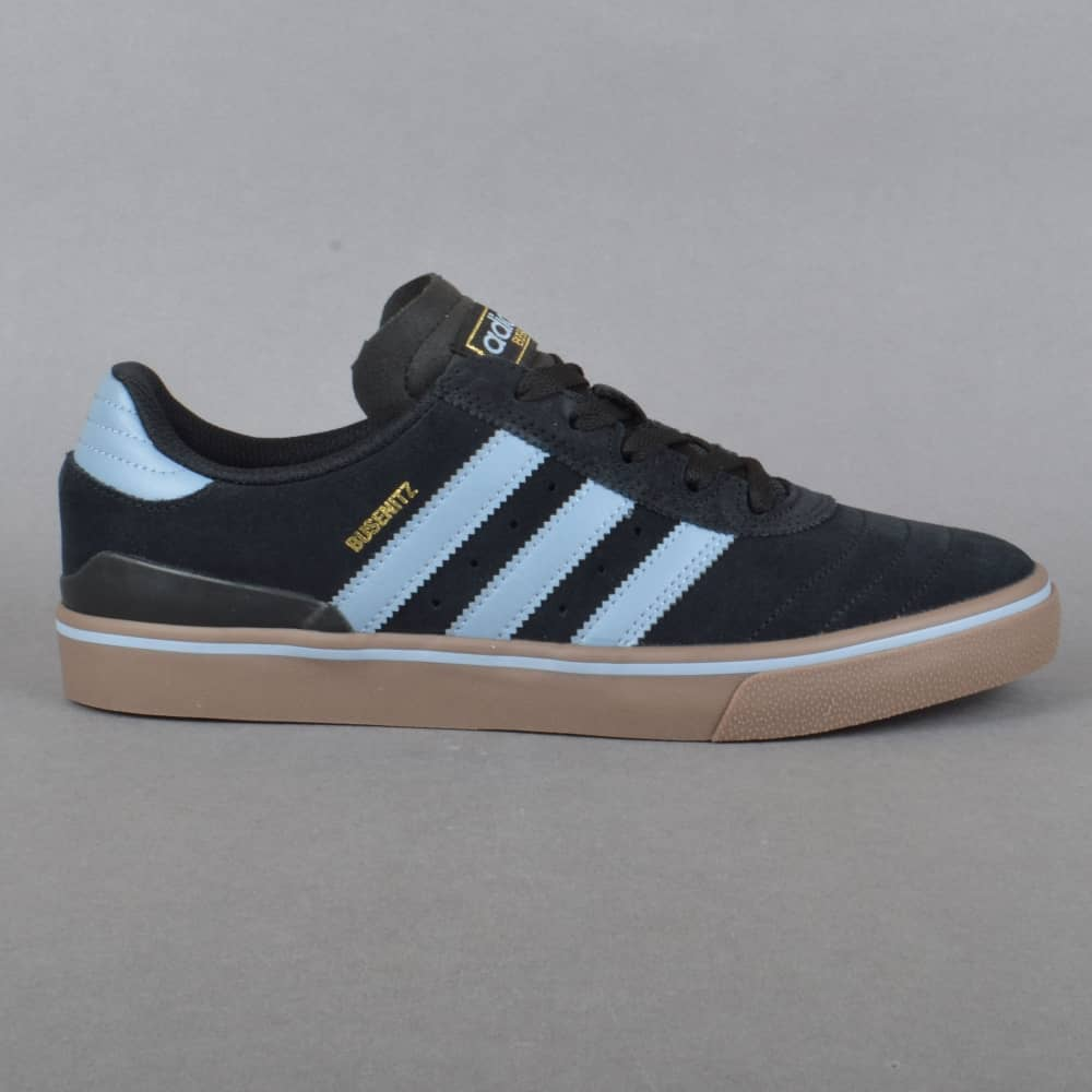 sale retailer 803e5 74fc3 Busenitz Vulc ADV Skate Shoes - Core Black Tactile Blue Gum