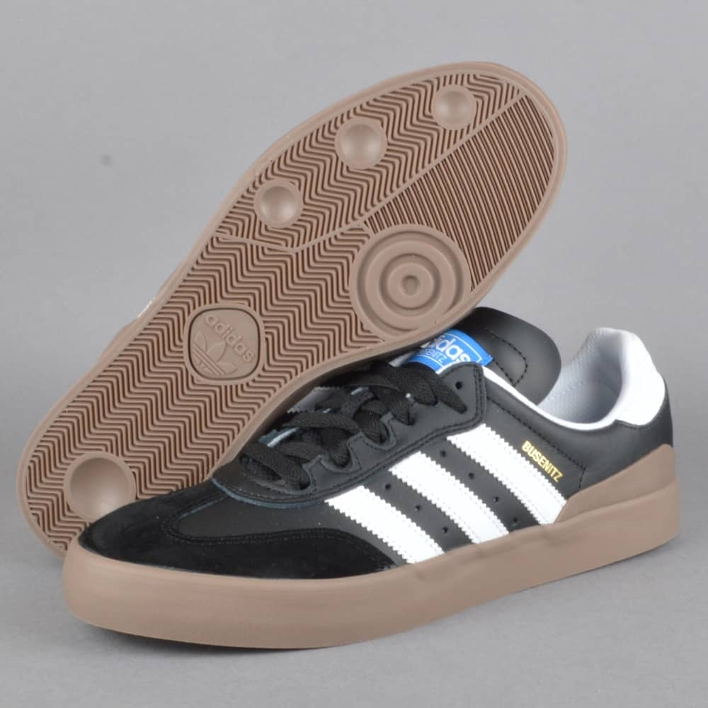 f28a25421d15 Adidas Skateboarding Busenitz Vulc RX Skate Shoes - CBLACK FTWWHT ...