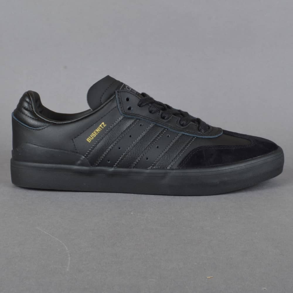 sneakers for cheap 40f4d 79960 Busenitz Vulc Samba Edition Skate Shoes - CBLACK CBLACK GRDEDG
