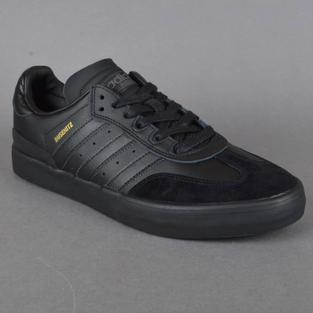 sneakers for cheap 0b7fc 9de85 Busenitz Vulc Samba Edition Skate Shoes - CBLACK CBLACK GRDEDG