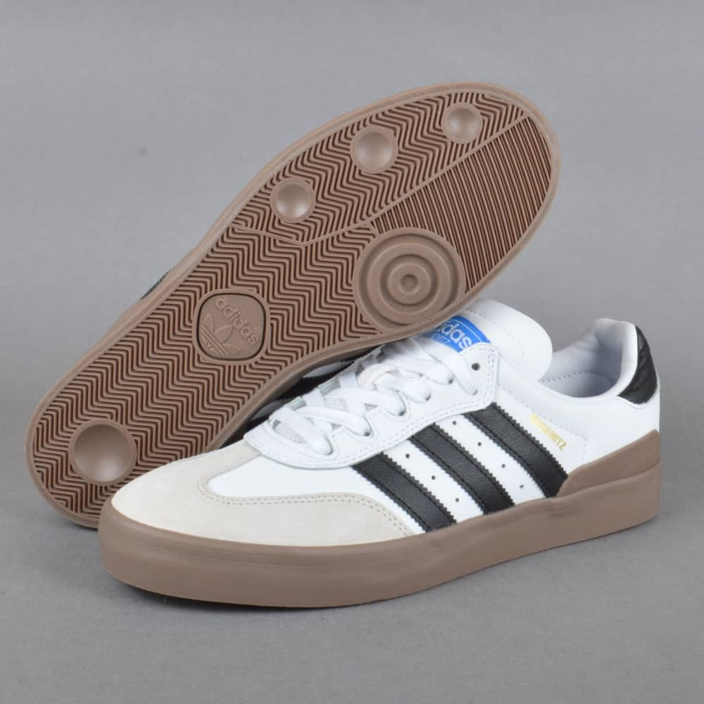 485c1e880af68 Busenitz Vulc Samba Edition Skate Shoes - Footwear White/Core Black/Bluebird